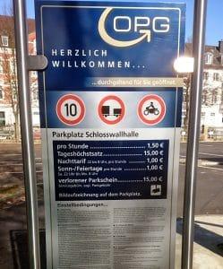 Stellplatz Osnabrück Preise