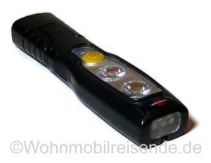 Taschenlampe mit USB-Anschluss