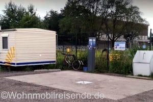 Versorgungsstation Amsterdam, auch zum Wasser tanken