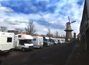 Stellplatz für einen Rotterdam-Besuch