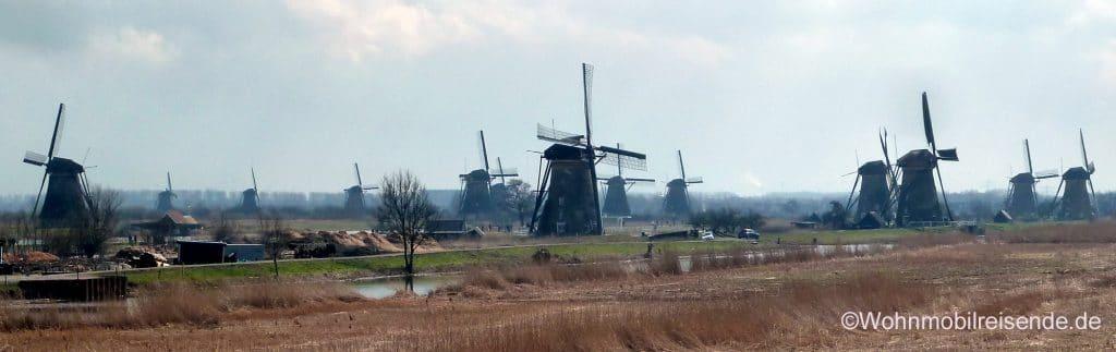 Unesco Weltkulturerbe Kinderdijk, NL