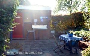 Stellplatz Zwolle Sanitärbereich