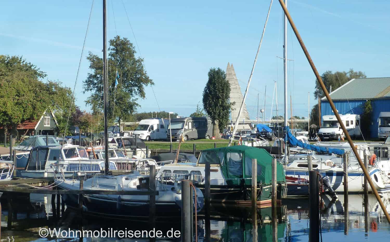 Wohnmobil-Stellplatz in Zwolle, Niederlande